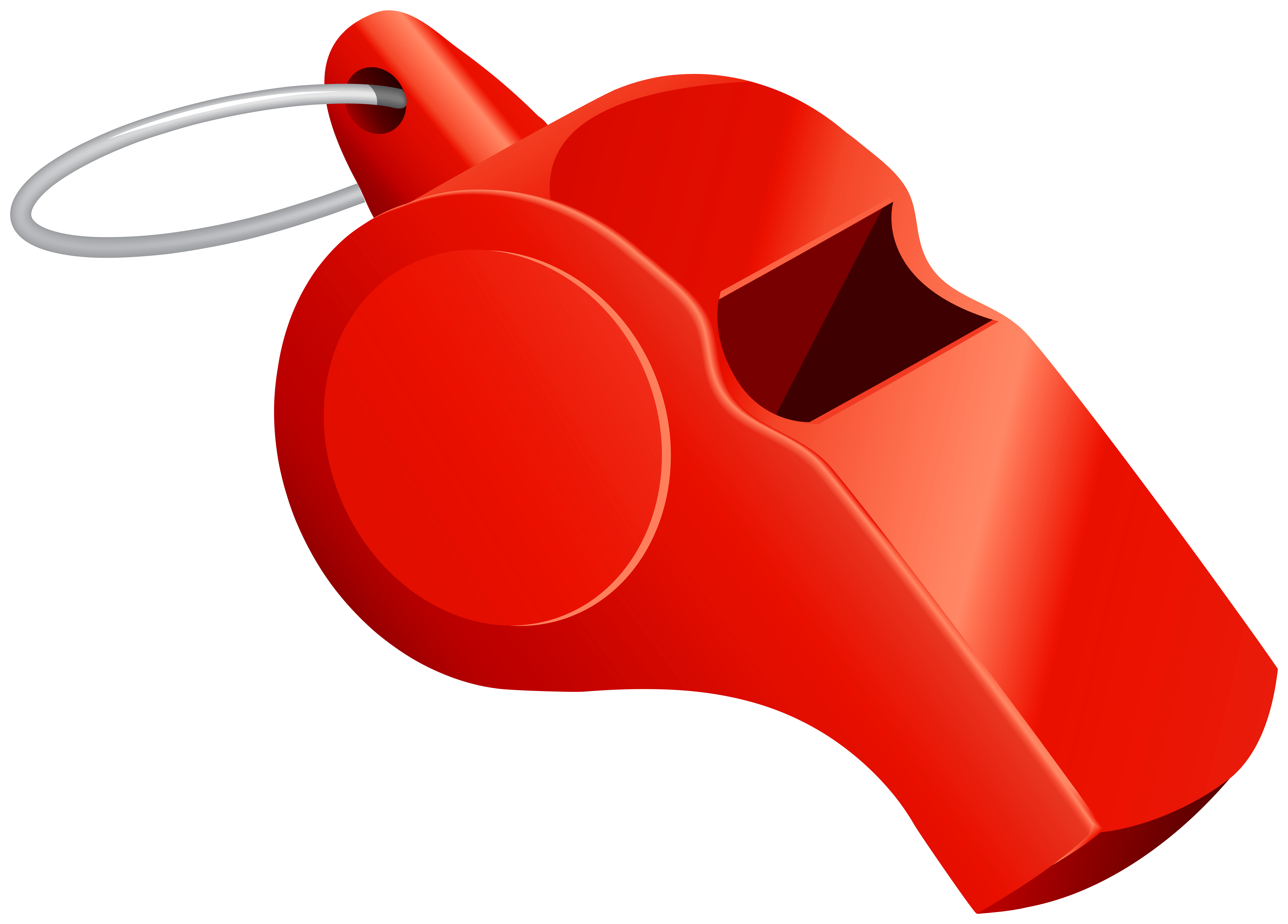 clip library download Red png clip art. Whistle clipart