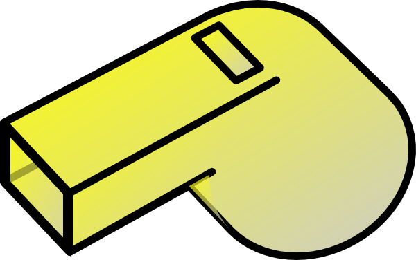 clipart freeuse download Yellow clip art at. Whistle clipart