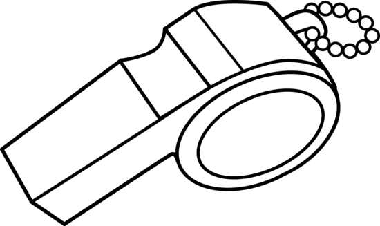 clip art library stock Whistle Clip Art Black And White