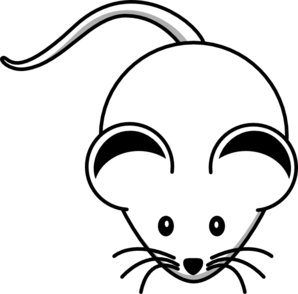 banner freeuse library White clipart. Computer mouse black and