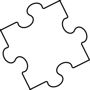 vector library download White clipart. Black and jigsaw puzzles
