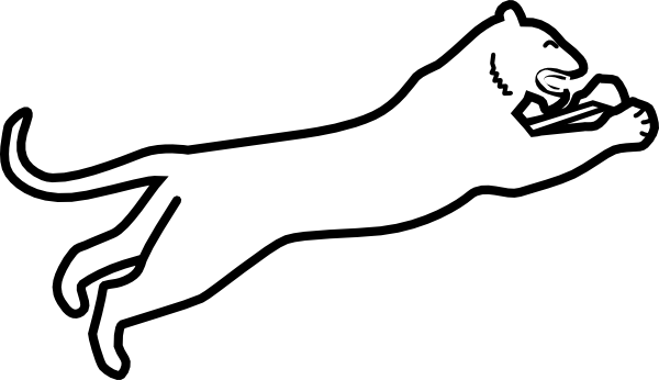 image royalty free stock White Panther Clipart