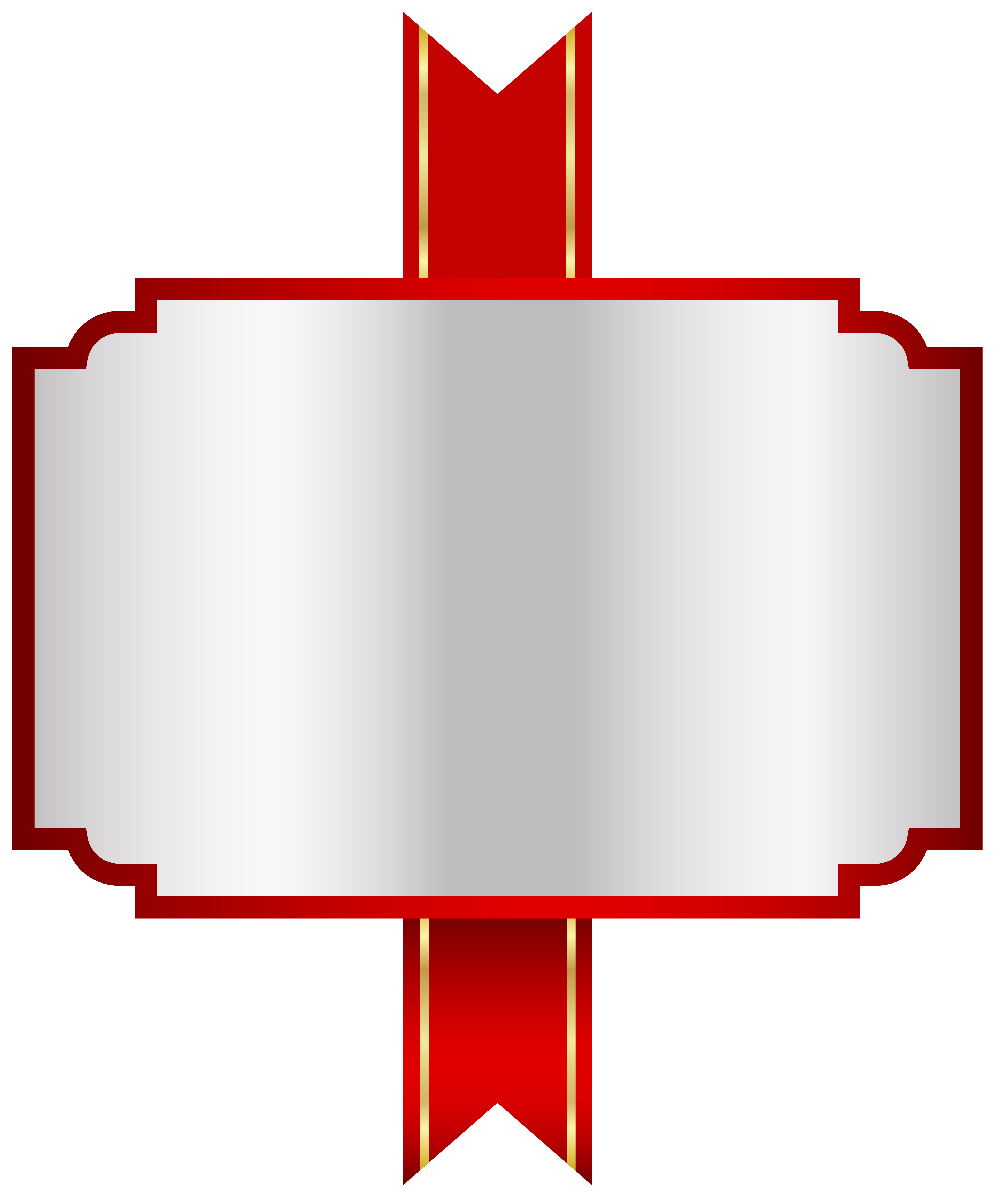 picture free White label clipart. Red png clip art