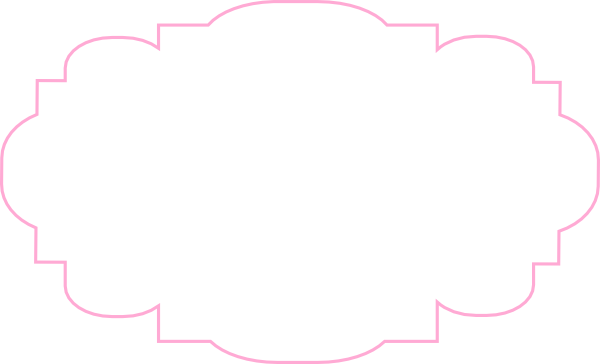 picture transparent Pink and clip art. White label clipart