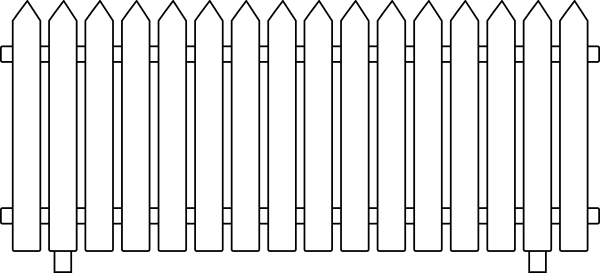 svg free library Captivating White Picket Fence Garden For Fence Gate