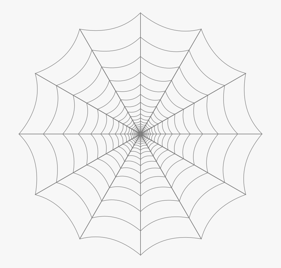clipart black and white library Free cliparts on . White spider web clipart