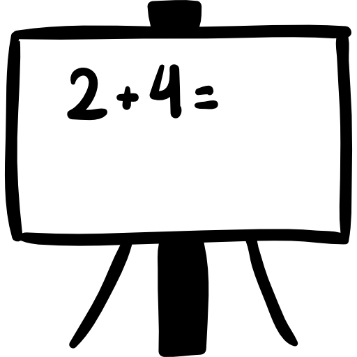 free download Whiteboard clipart. Black and white icon