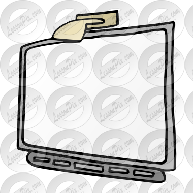 banner freeuse stock Interactive picture for classroom. Whiteboard clipart