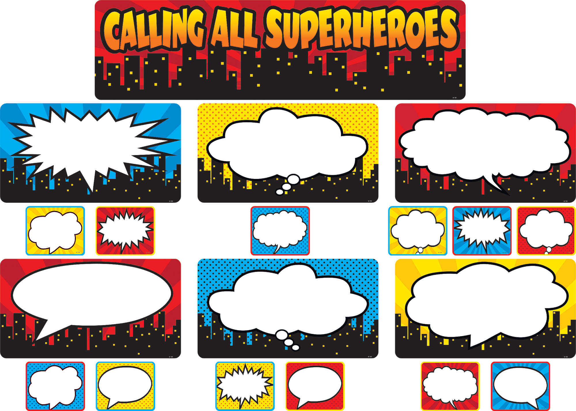 picture freeuse Calling all superheroes mini. Bulletin clipart bulletin board background