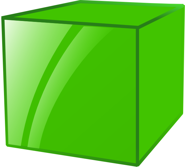 jpg freeuse stock Cube clip art at. Why clipart cubes.