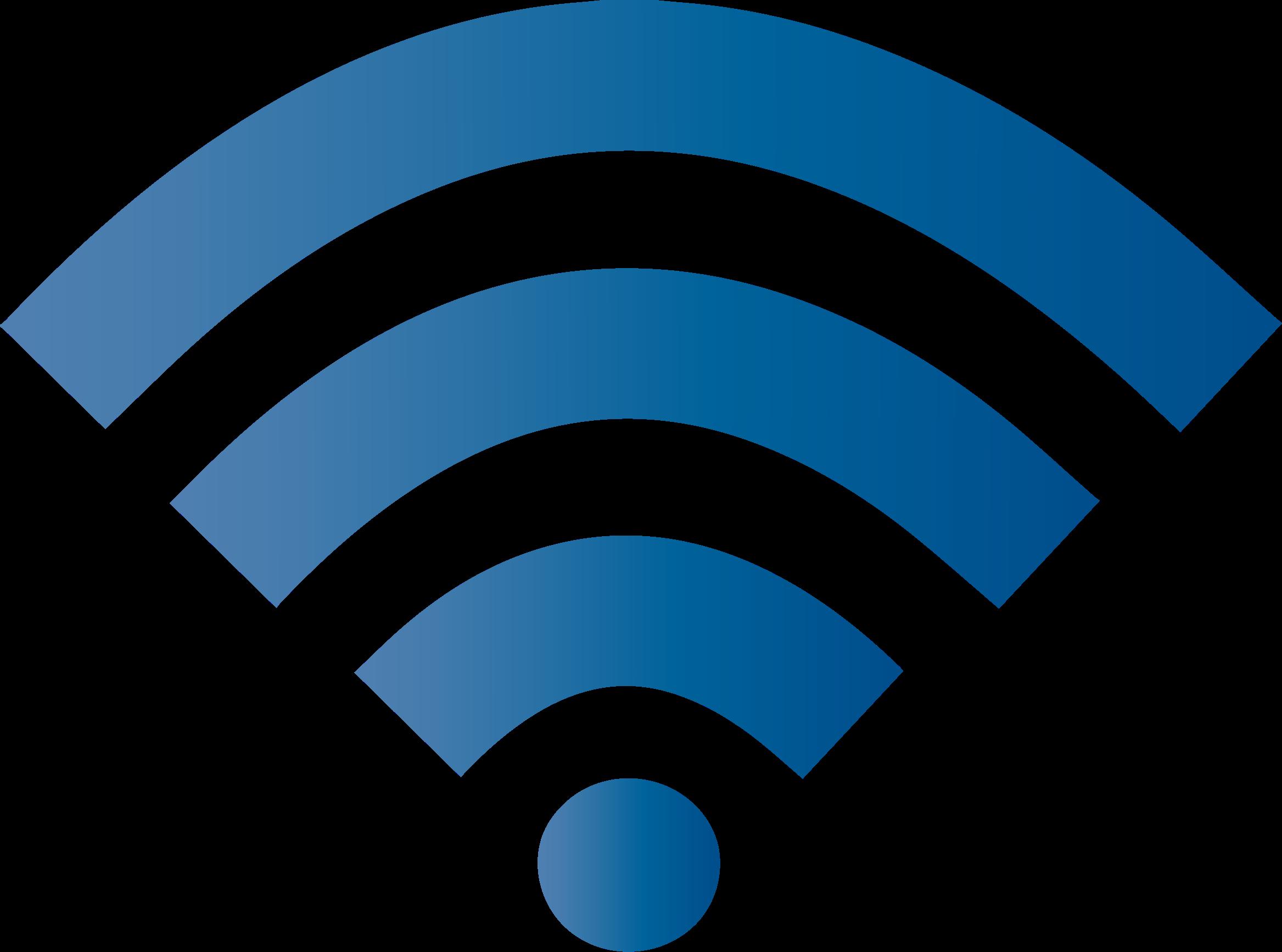 vector transparent Royal blue big image. Wifi clipart