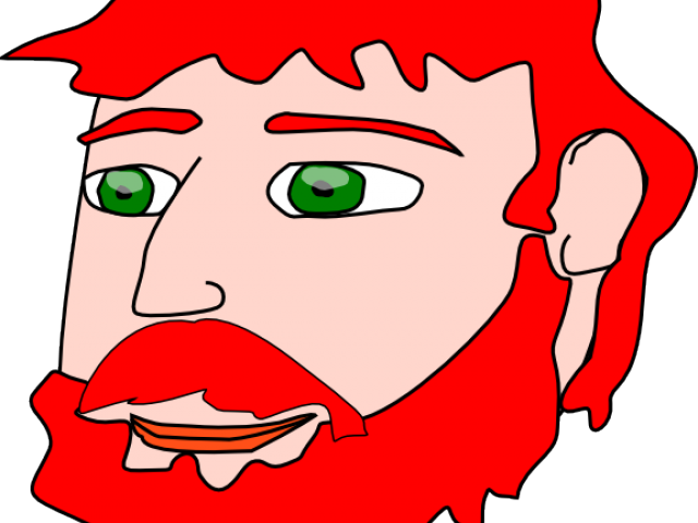 picture free Beard clipart ginger. Red hair free on