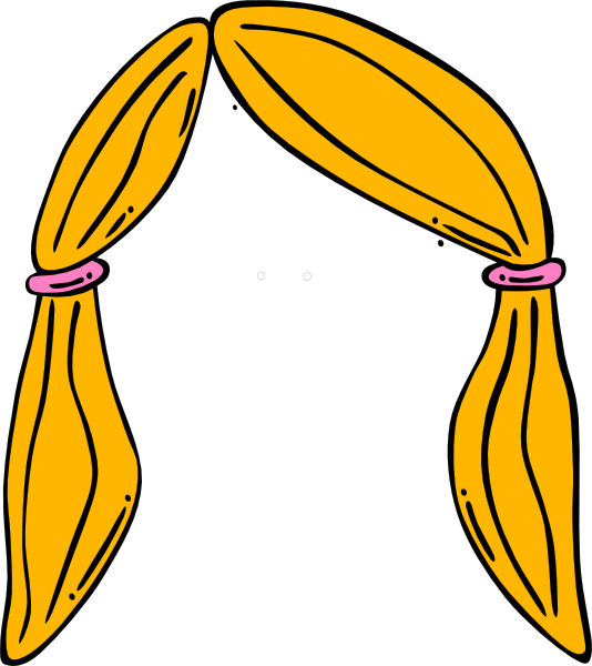 vector freeuse stock Wig Clipart