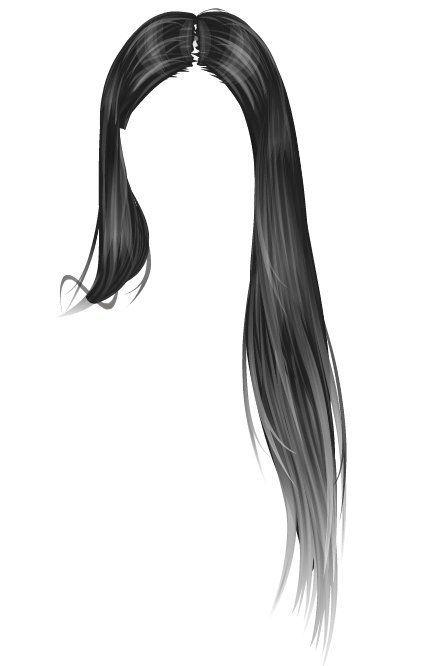 graphic transparent stock Sketch hair lidija lt. Wig drawing
