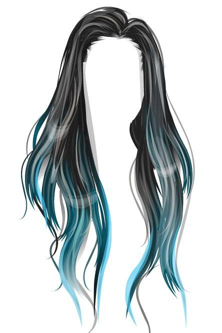 royalty free library Wig drawing. Candyalize hair in manga