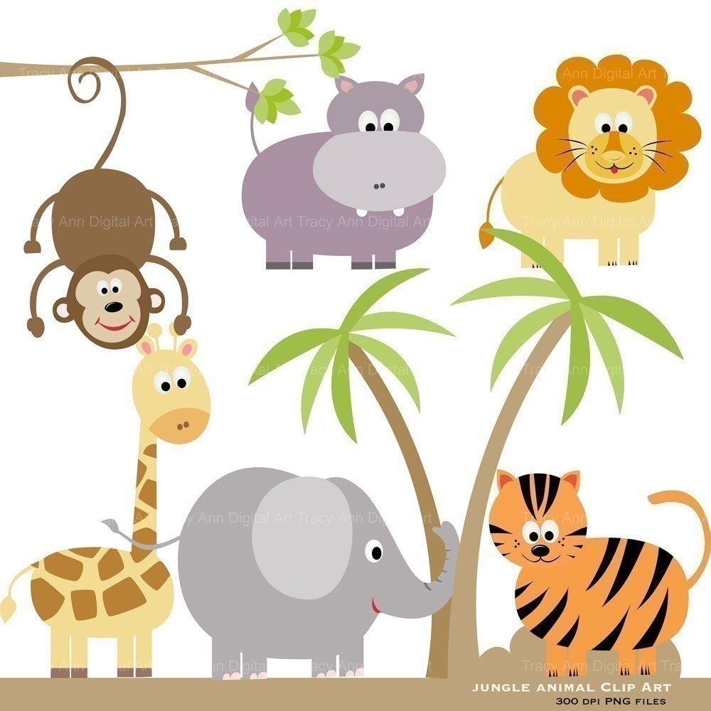 jpg free download Wild animal clipart. Free wildlife cliparts download