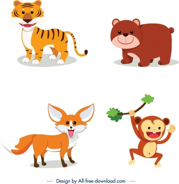 banner transparent library Clip art free vector. Wild animal clipart