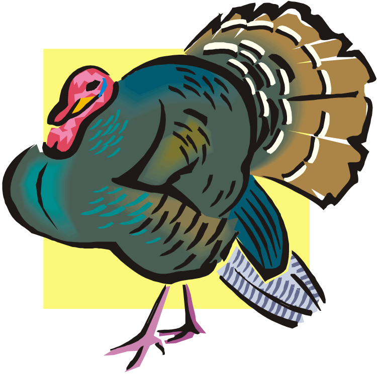 png freeuse Wild turkey clipart black and white. Free