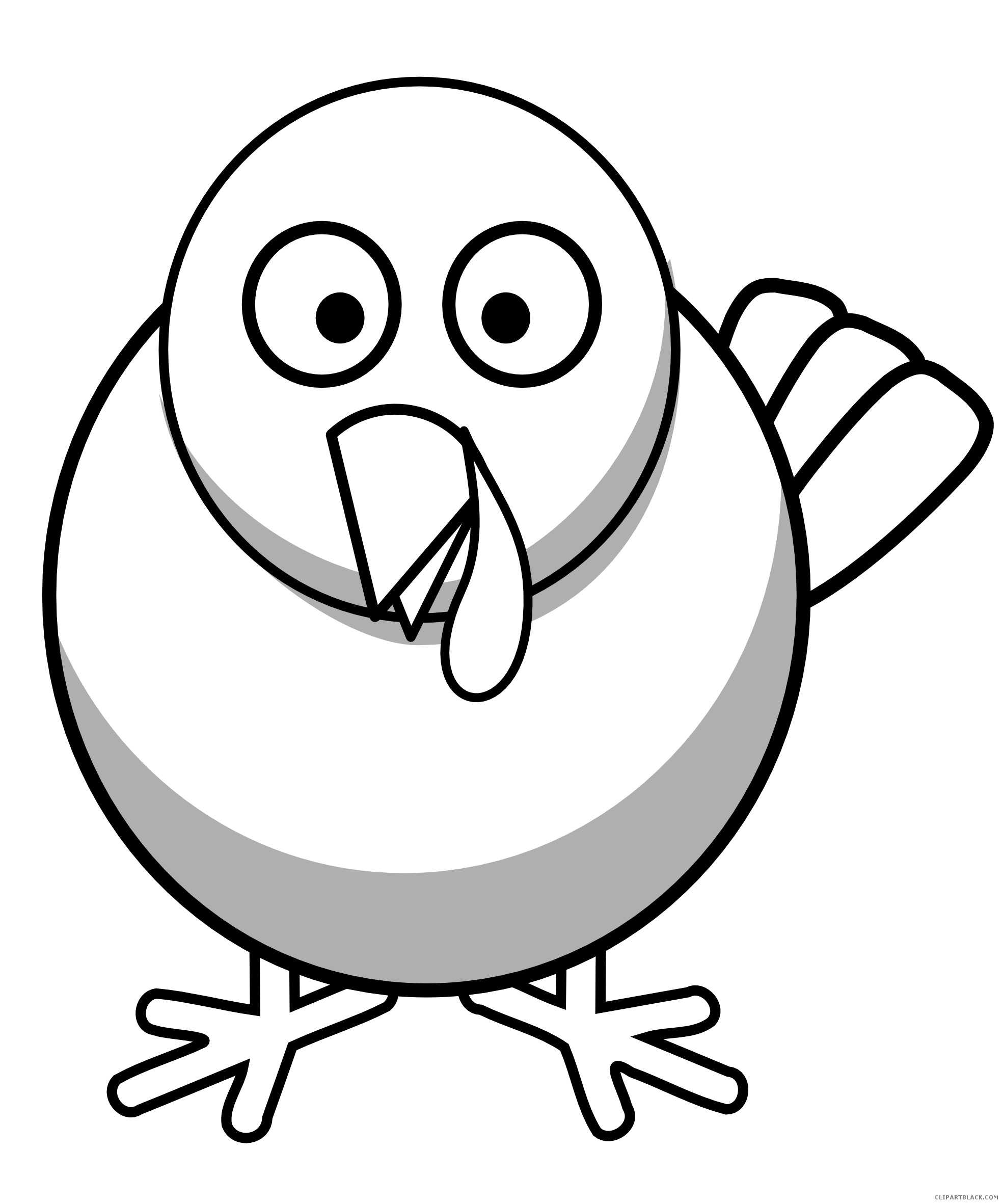 banner transparent stock Free picture transparent library. Wild turkey clipart black and white