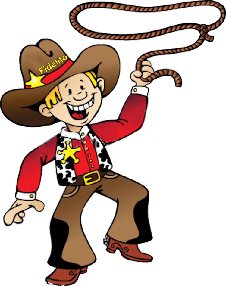 picture royalty free stock Country western clipart. Cowboy on horse at