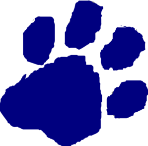 clip art library download Wildcat paw clip art