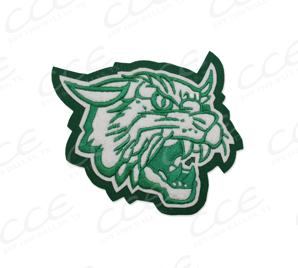 jpg stock Kennedale hs wildcats sleeve. Wildcat clipart green
