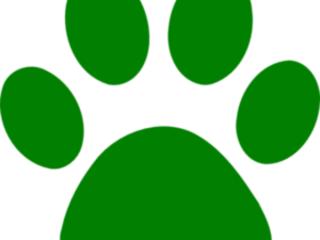 clipart free download Wildcat clipart green. Paw prints x carwad
