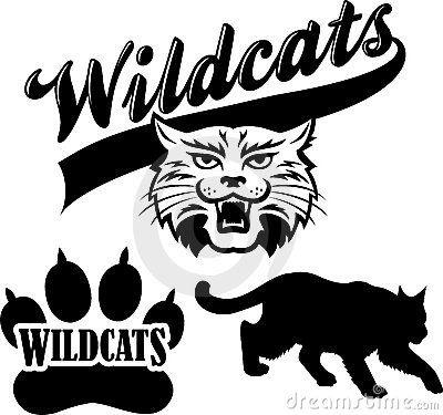 vector freeuse download Pin on vectors . Wildcat vector silhouette