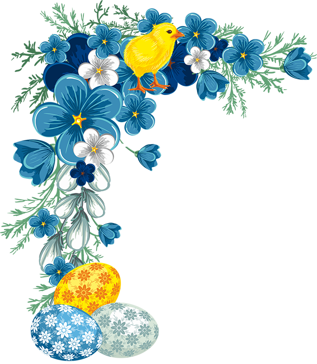 clipart download EASTER CORNER