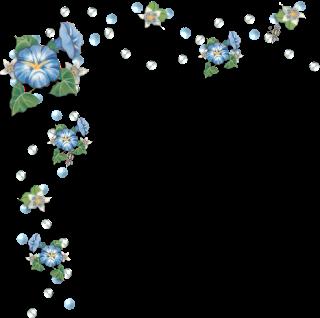 image library Sgblogosfera mar a jos. Wildflower clipart corner border flower