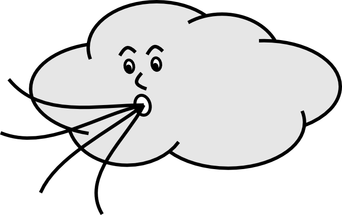 banner royalty free stock Weather clipart black and white. Wind clip art free