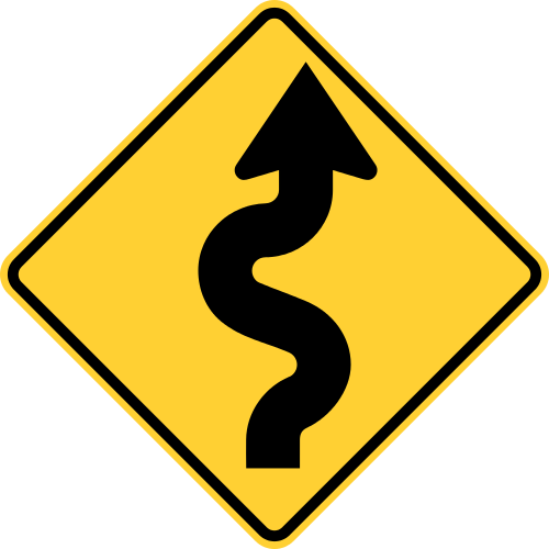 clip art royalty free library Collection of free Curving clipart windy road