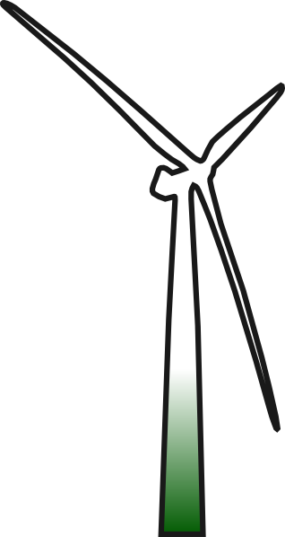 clipart black and white Modern wind panda free. Windmill clipart