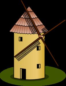 jpg transparent stock Windmill clipart. Clip art at clker