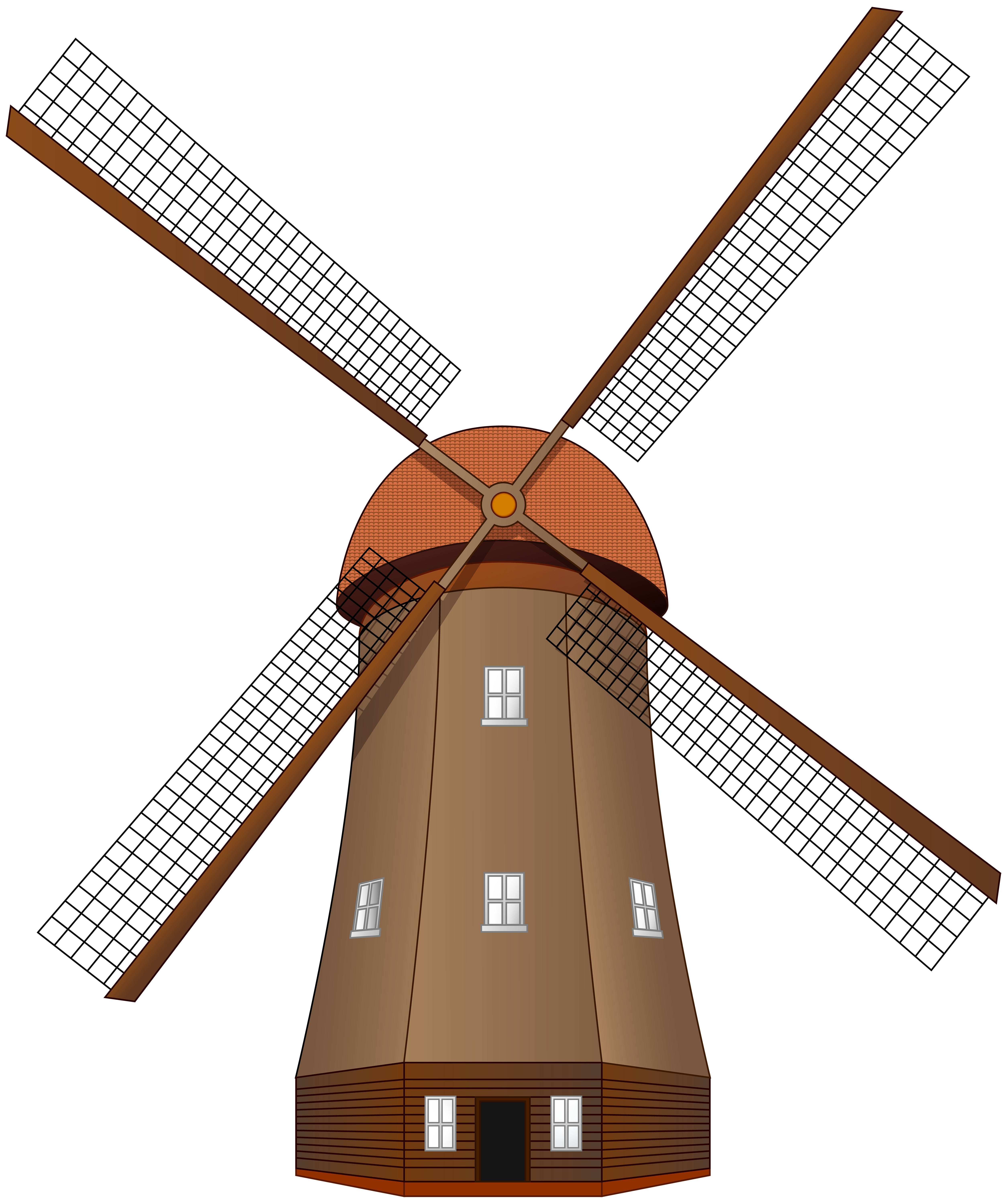 picture freeuse Windmill clipart. Large png clip art