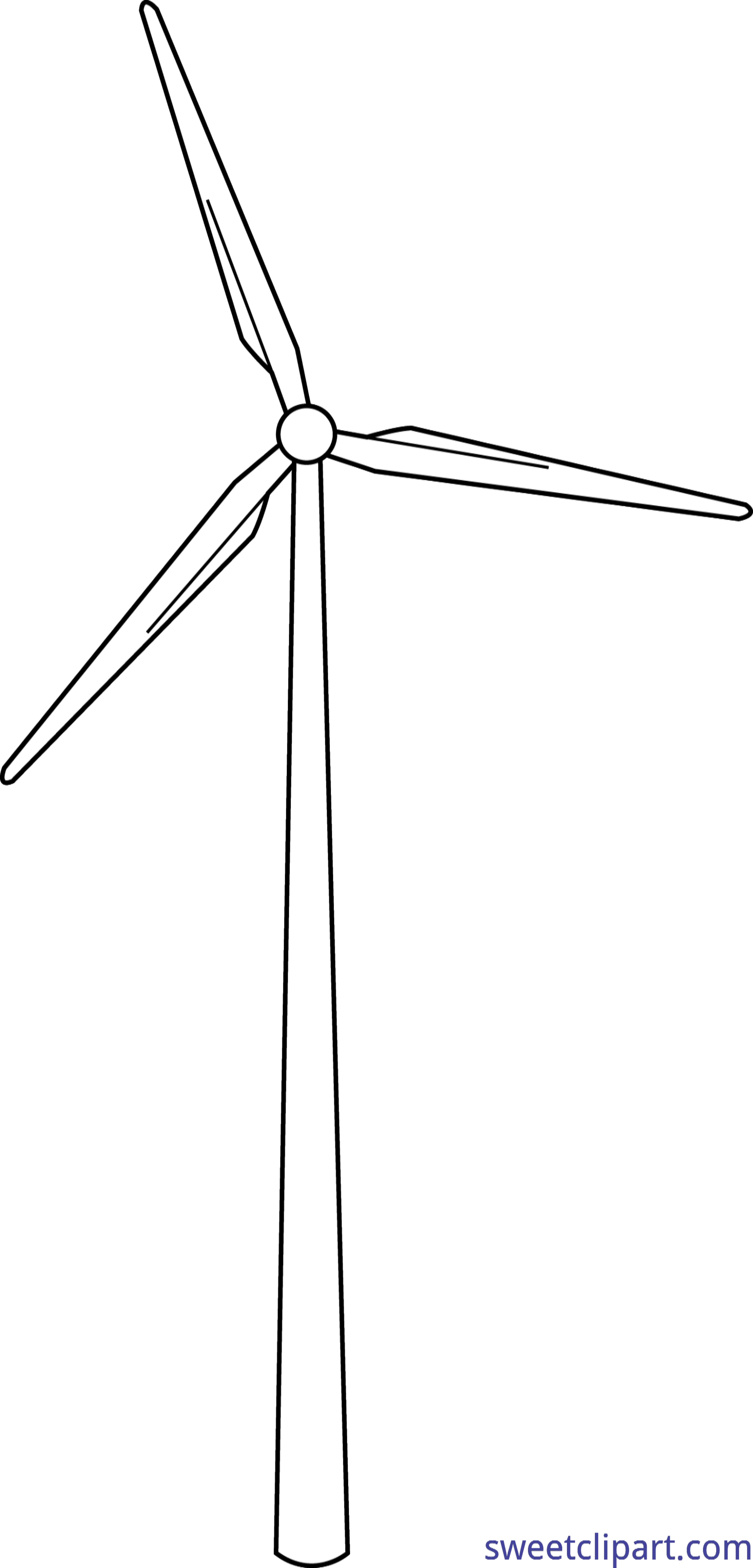image royalty free Lineart clip art sweet. Windmill clipart