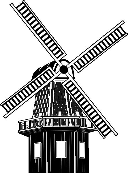 clip art freeuse stock Windmill clipart. Clip art at clker