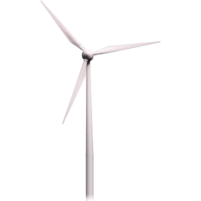 image black and white stock Wind Turbine transparent PNG