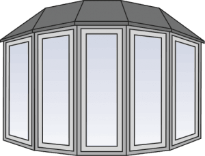 image freeuse Bay window at getdrawings. Windows drawing