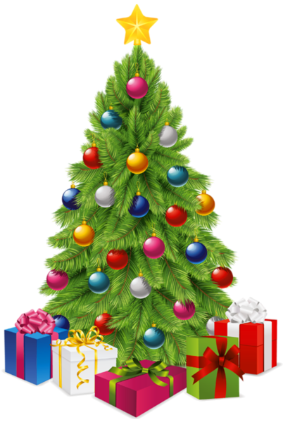 clip art royalty free download Window clipart christmas. Transparent tree with gift