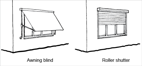 picture transparent stock Awning drawing