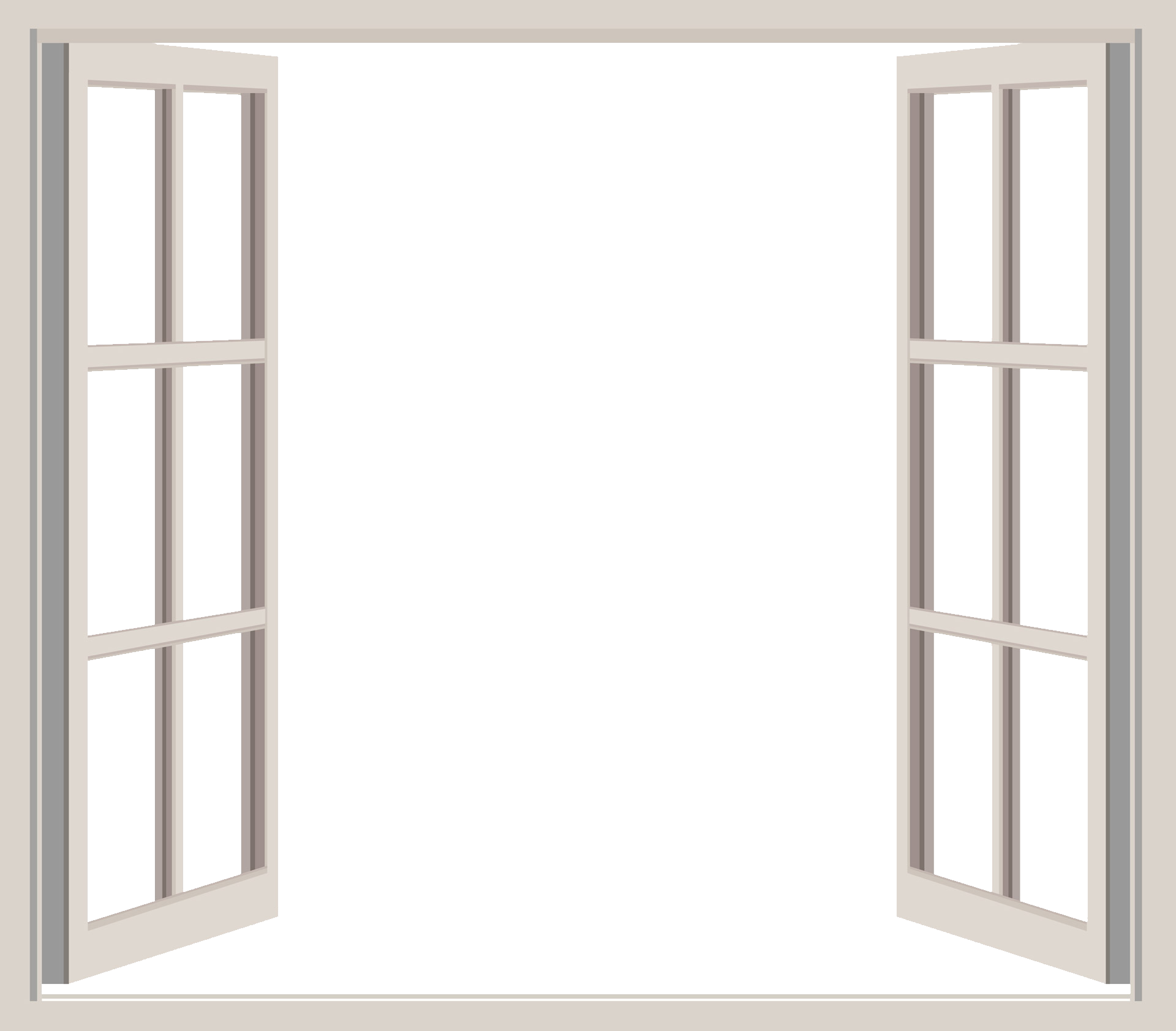 graphic transparent library windows vector opened window #109120621