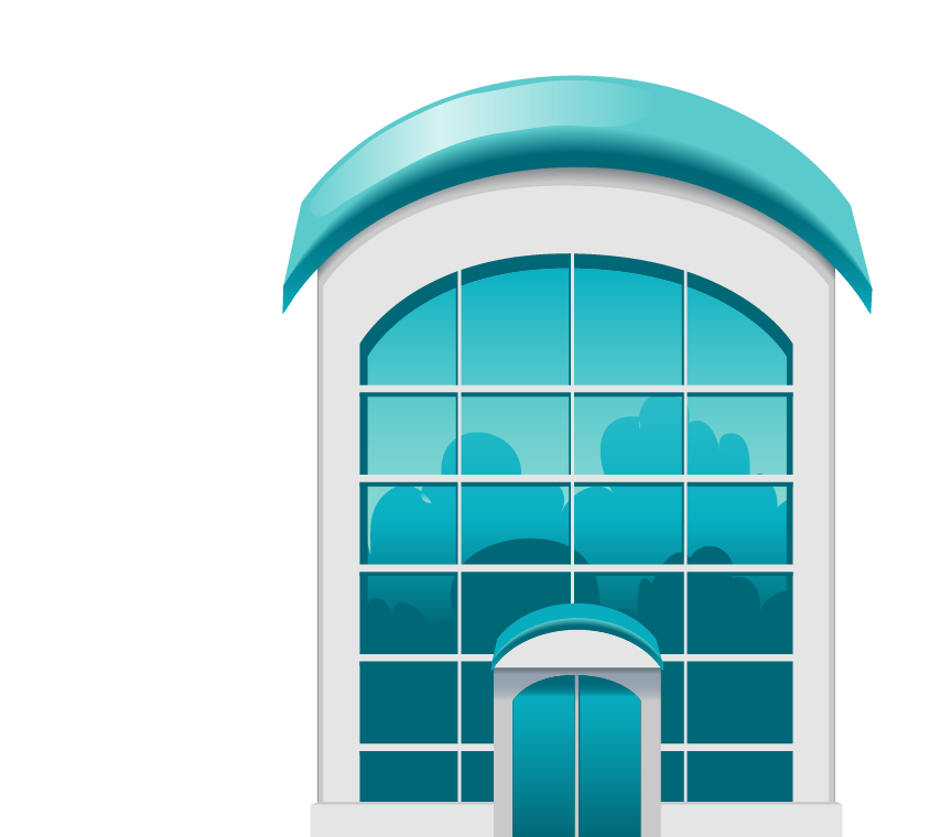 clip art royalty free Window Blue Building Glass Facade