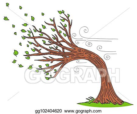 png royalty free Windy clipart. Eps vector blowing wind