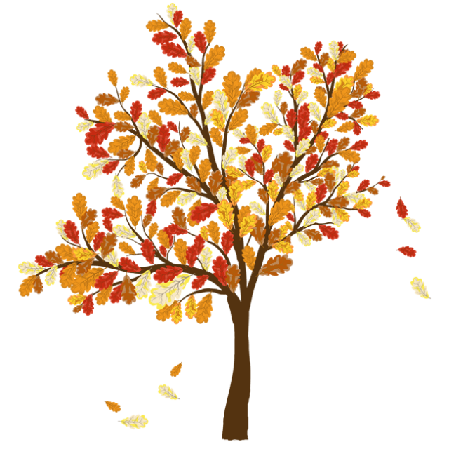 banner free stock Colorful Clip Art For The Fall Season