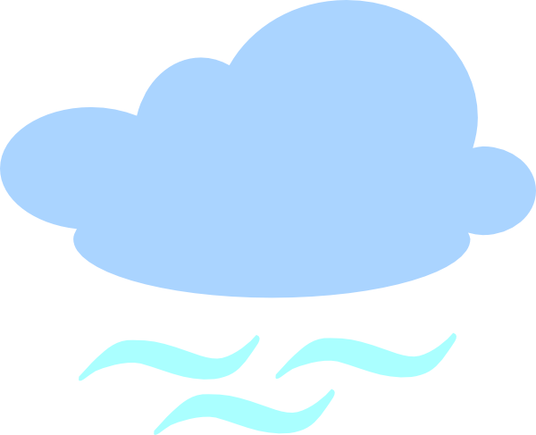 clip freeuse download Windy Cloud Clip Art at Clker