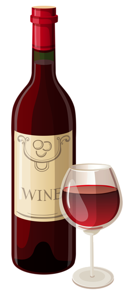 black and white library Bottle and glass png. Wine clipart