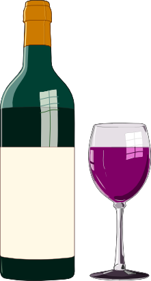 transparent library Wine clipart. Free