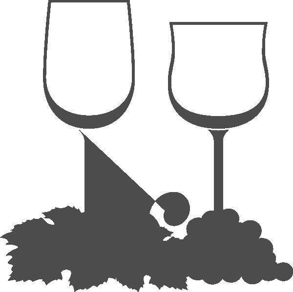 png transparent Wine Glasses Clip Art at Clker