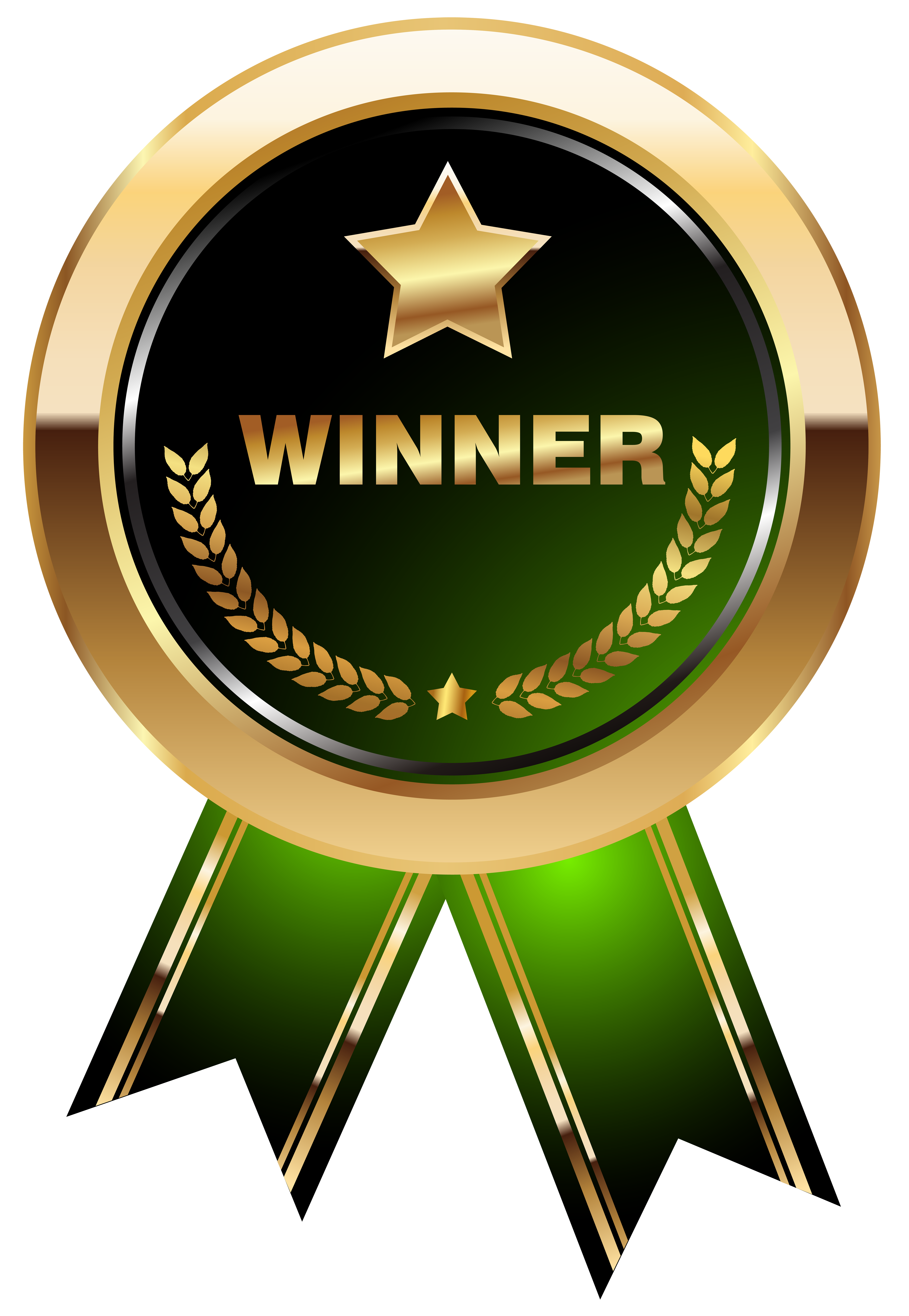 png free library Winner transparent png clip. Green clipart medal